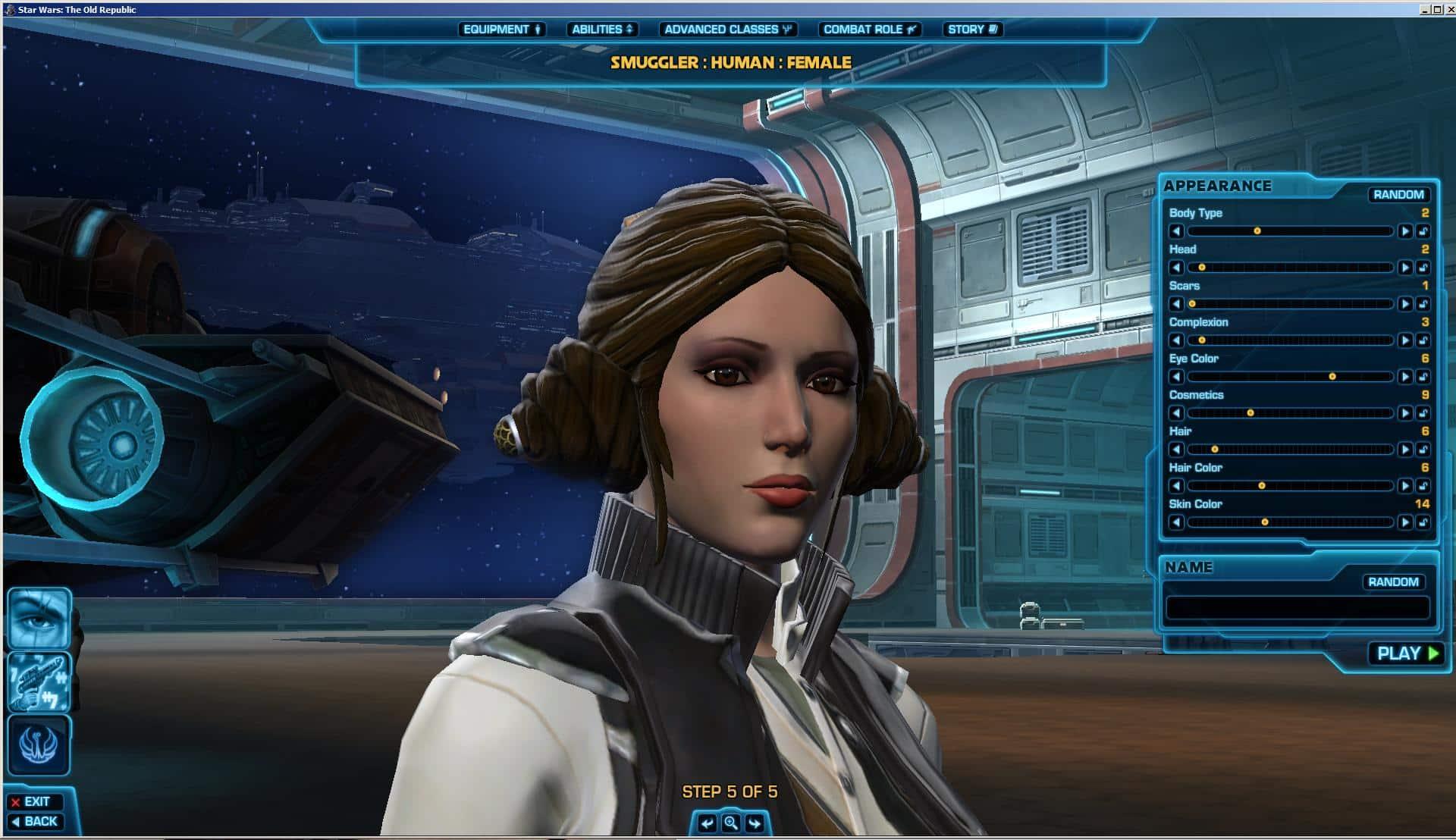 swtor Leia