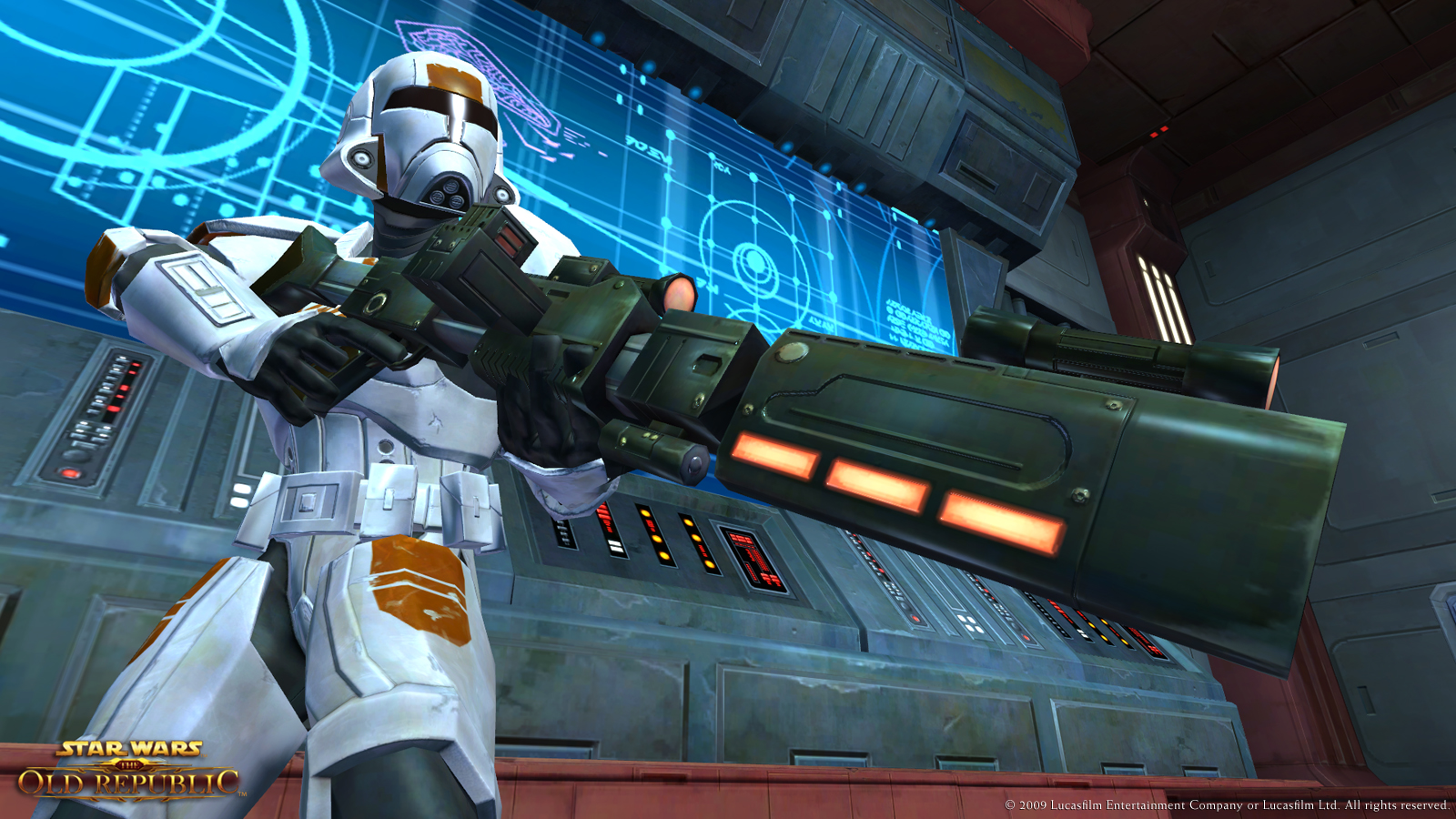 SWTOR Trooper Commando PVP Build