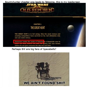 Combs the Sands of Tatooine: BioWare Made a Funny?