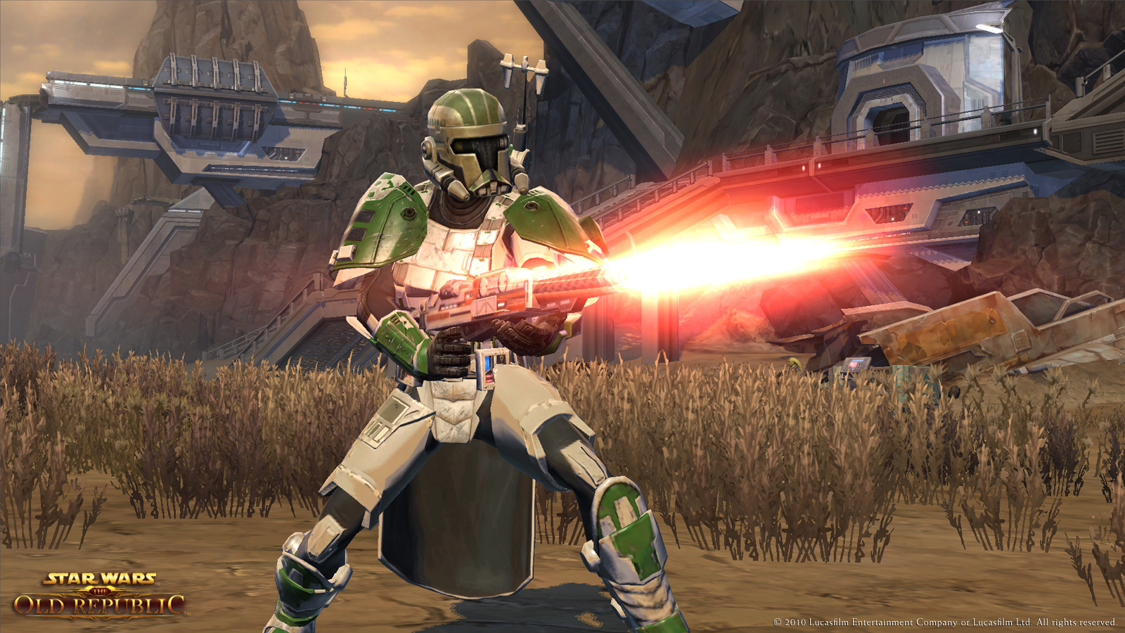 SWTOR Trooper Vanguard PVP Build