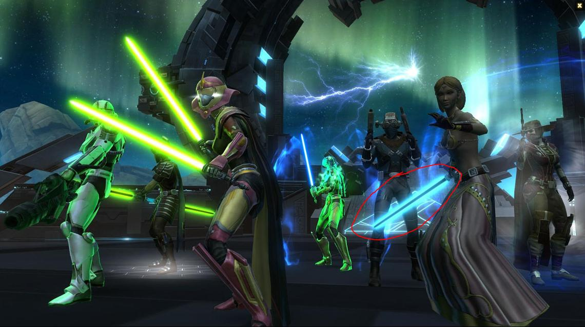 Are Black-Cyan Sabers Coming in SWTOR