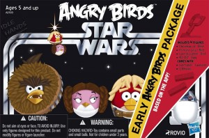 Star Wars Angry Birds Plush line