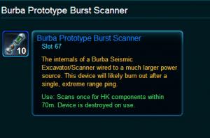 Burba Prototype Burst Scanner