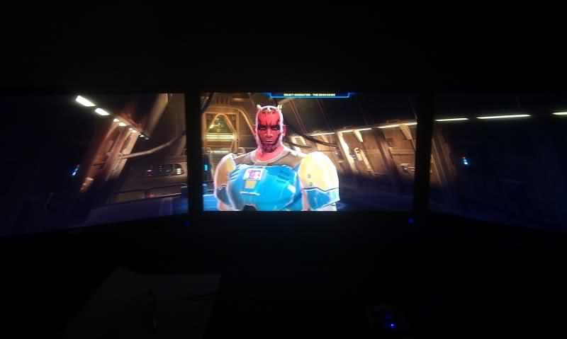 SWTOR triple monitor setup
