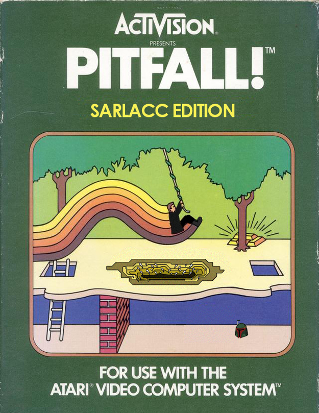 Pitfall! Sarlacc Edition for Atari
