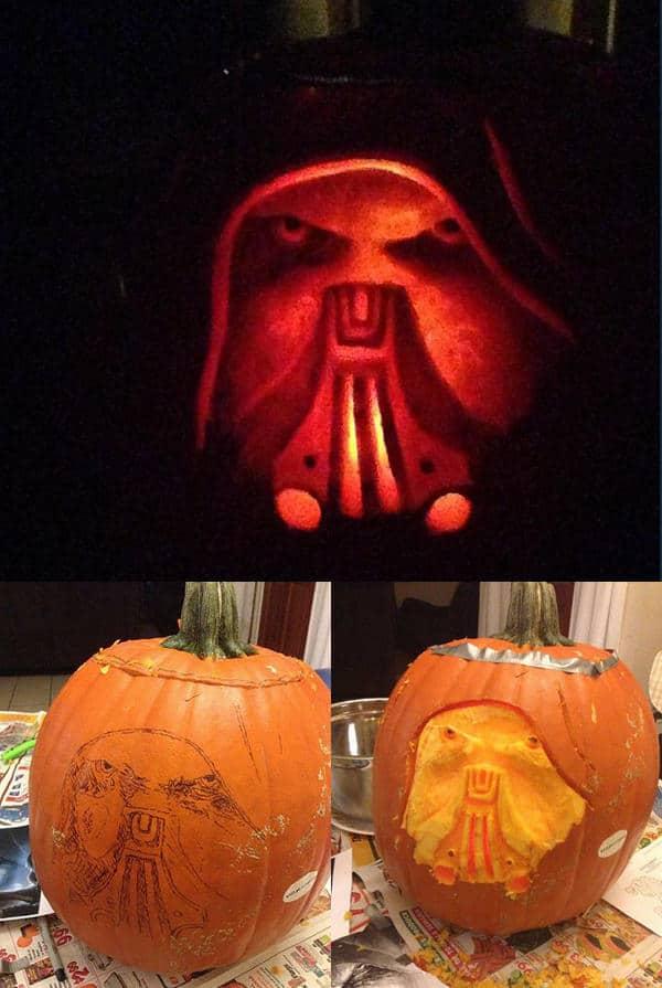 darth malgus pumpkin