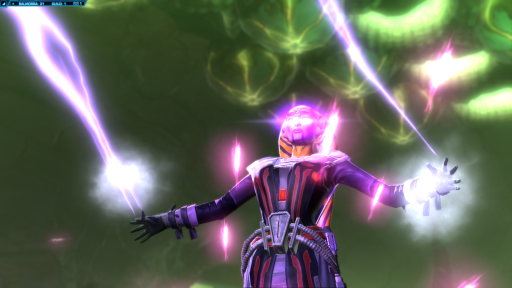 SWTOR Sith Inquisitor Sorcerer Leveling Build For 1.5