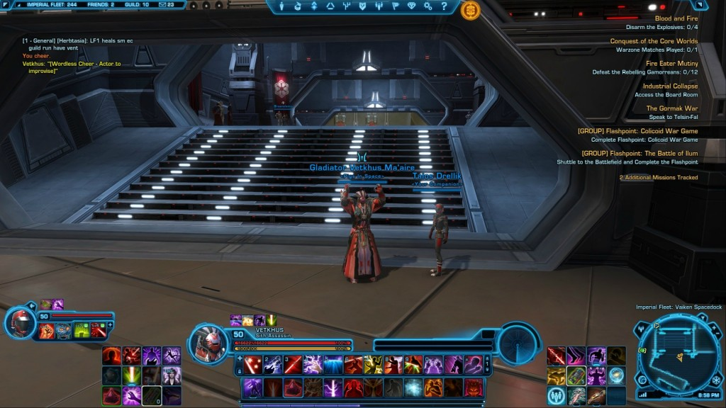 SWTOR 1.5.2 Patch Notes 12/4/2012