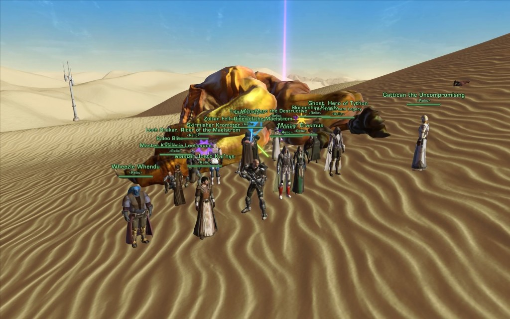 SWTOR World Boss Guides