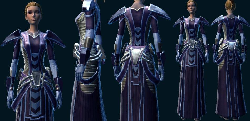 Malevolent Interrogator Armor Set