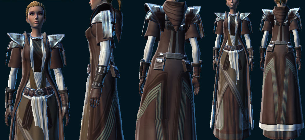 Sanctified Caretaker Armor Set