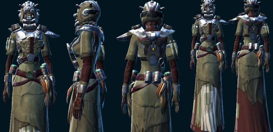 Sand People Pillager Armor Set