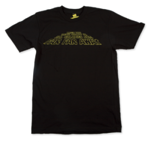 When You Think About It, All Galaxies Are Far, Far, Away T-shirt