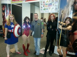 """The Avengers..Sadly I was not able to get names to tag them but their costumes were awesome"" - Photo Credit: David Gillaspy"