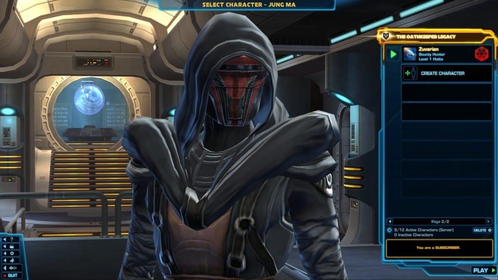 swtor revan armor set