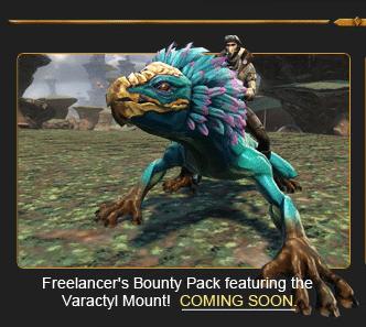 new swtor Varactyl mount