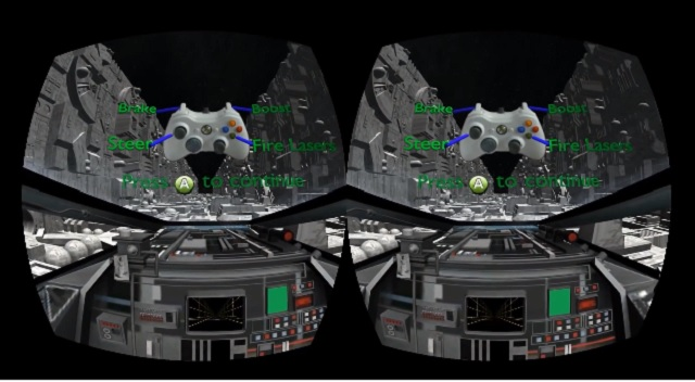 Star Wars A New Hope Trench Run Recreated for Oculus Rift