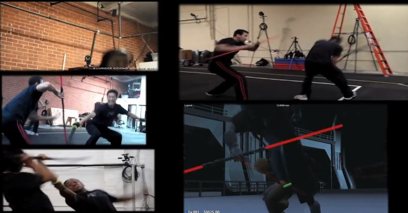 Star Wars The Old Republic The Return - Behind The Scenes - Motion Capture