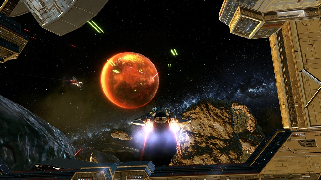 swtor Galactic Starfighter screenshot 1
