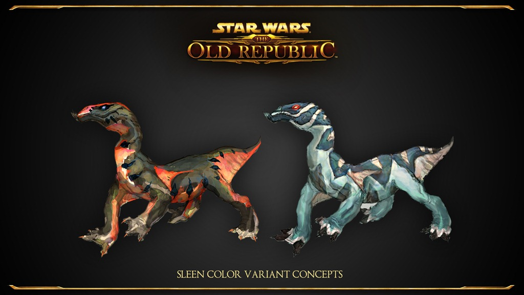 SWTOR_Sleen_Color_Variants