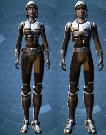 Badlands Explorer Armor set