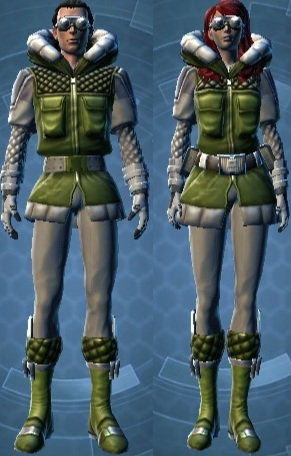 Polar Exploration Armor Set
