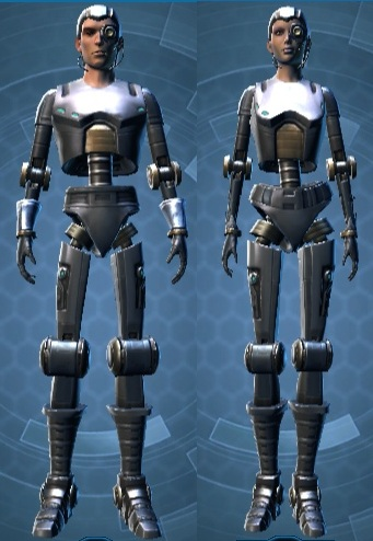 Series 212 Cybernetic Armor Set
