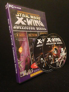 Star Wars Retro games X-WING Collectors' CD-ROM