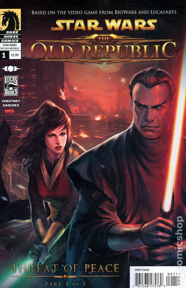 starwars the old republic comic