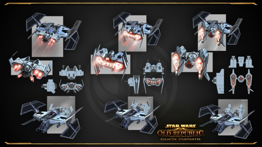 swtor Galactic Starfighter Concept Arts 2