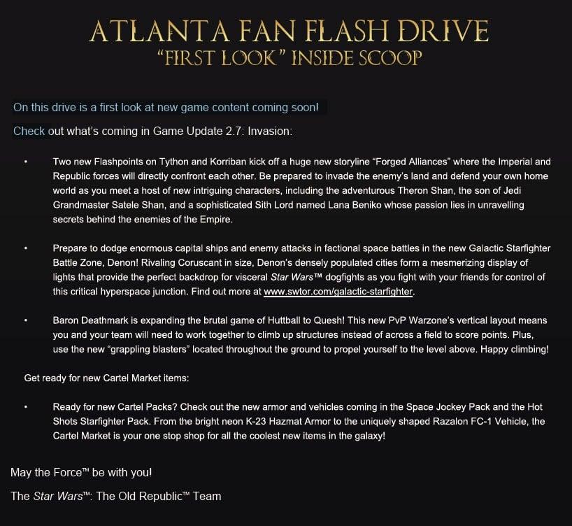 Atlanta GA Community Cantina - Flash Drive Assets
