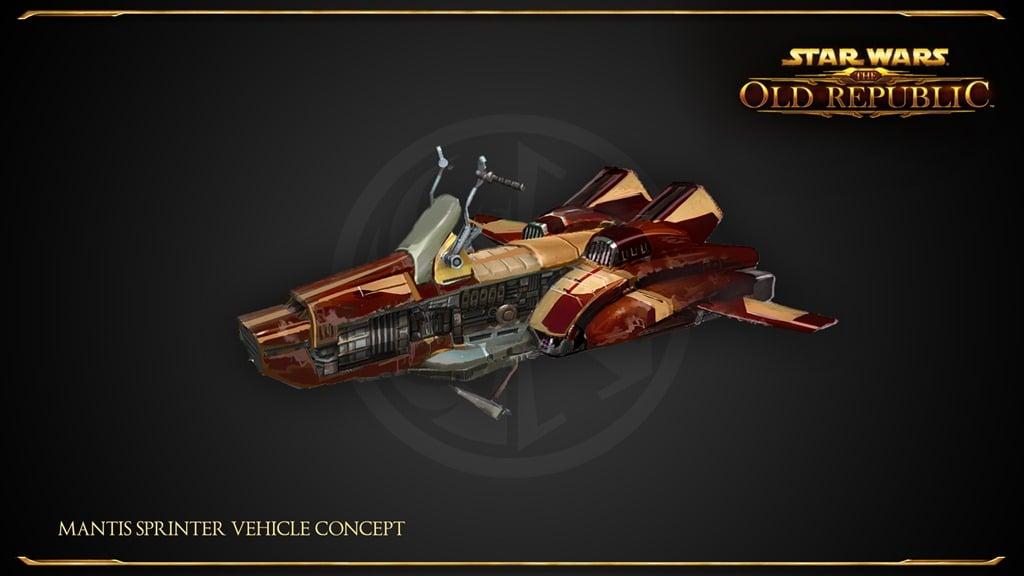 SWTOR_Mantis_Sprinter_Vehicle_Concept
