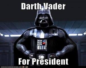 Vader for president