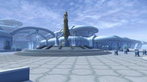 Manaan environmental screenshot