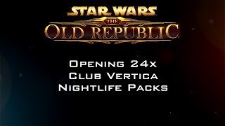 Opening 24x Club Vertica Nightlife Packs
