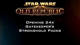 Opening 24x Gatekeeper's Stronghold Packs