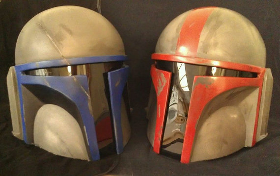 full size mandalorian death watch helmet