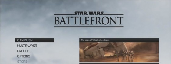 star wars battefront gameplay