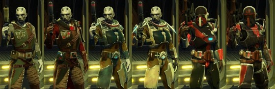 Gear Progression bounty hunter