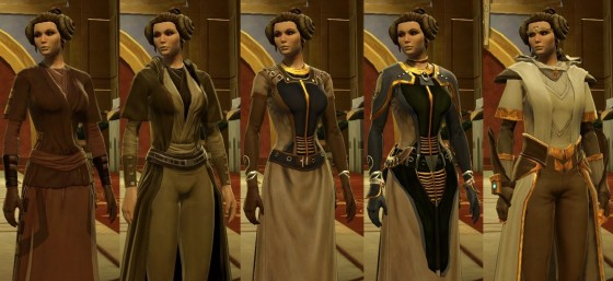 Gear Progression jedi consular