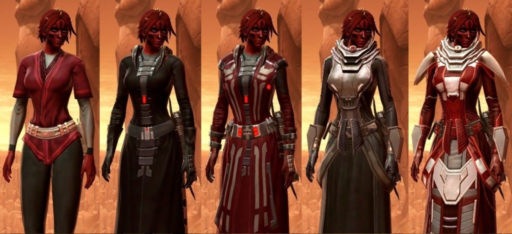 Gear Progression sith inquisitor
