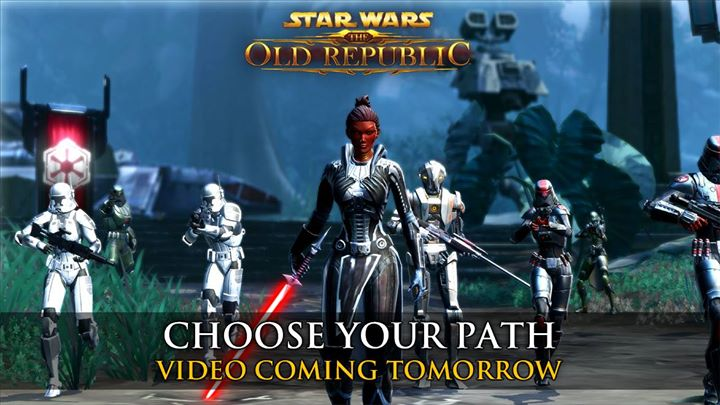 SWTOR Choose Your Path Video