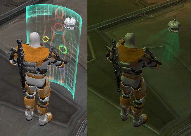Trauma probe - low shaders vs high
