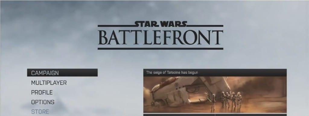 star wars battlefront gamplay