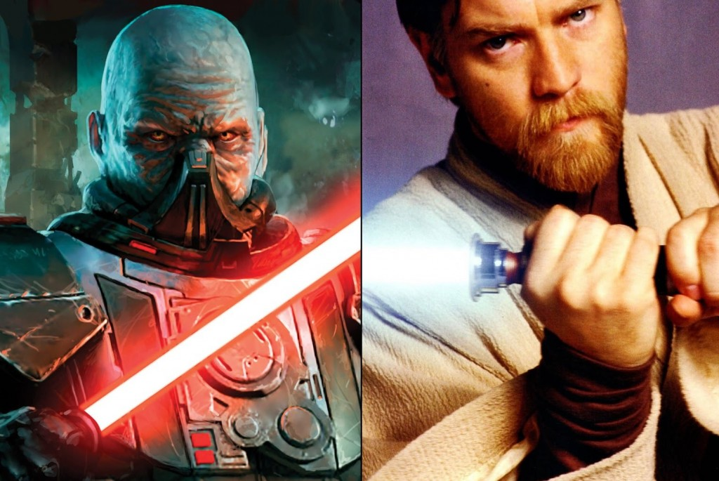 Obi-Wan Kenobi vs Darth Malgus
