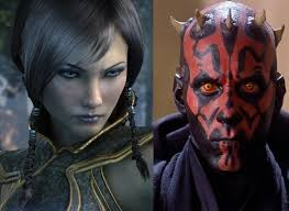 Satele Shan VS Darth Maul