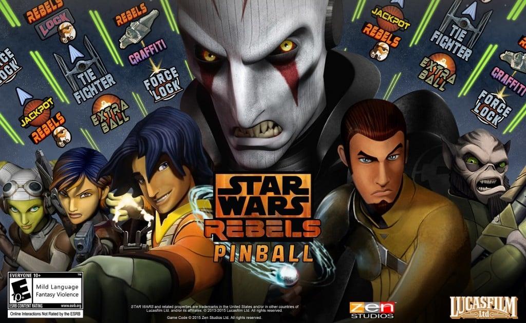 Star Wars  Pinball Star Wars Rebels