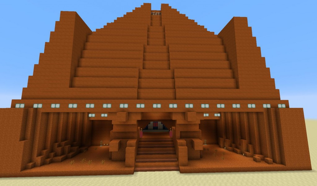 The Korriban Sith Academy on Minecraft