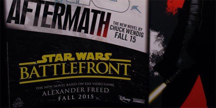 Alexander Freed star wars battlefront book