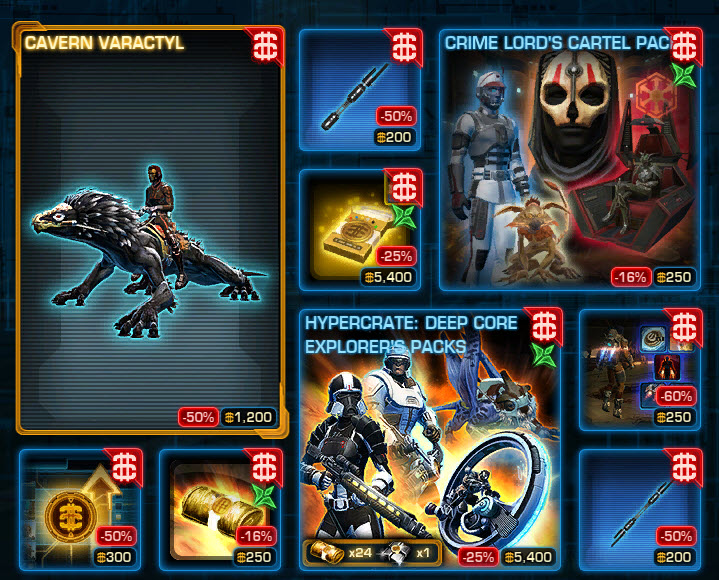 SWTOR CM weekly sales for June 2 – 9